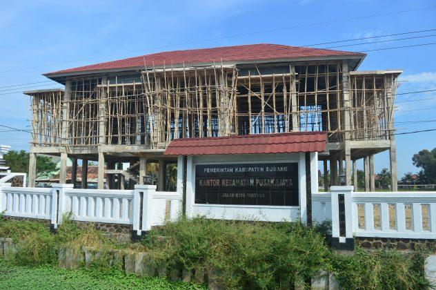 Vino Dorong Pembangunan Kantor Kecamatan Pusakajaya Pasundan Ekspres