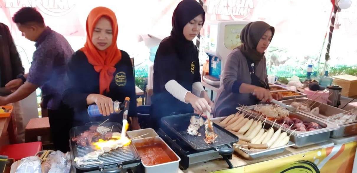 25 Tenant Ramaikan Wisata Kuliner Galuh Mas Pasundan Ekspres