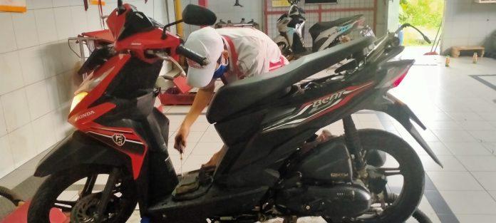 Servis Di Virgi Motor Dapat Masker Gratis Pasundan Ekspres