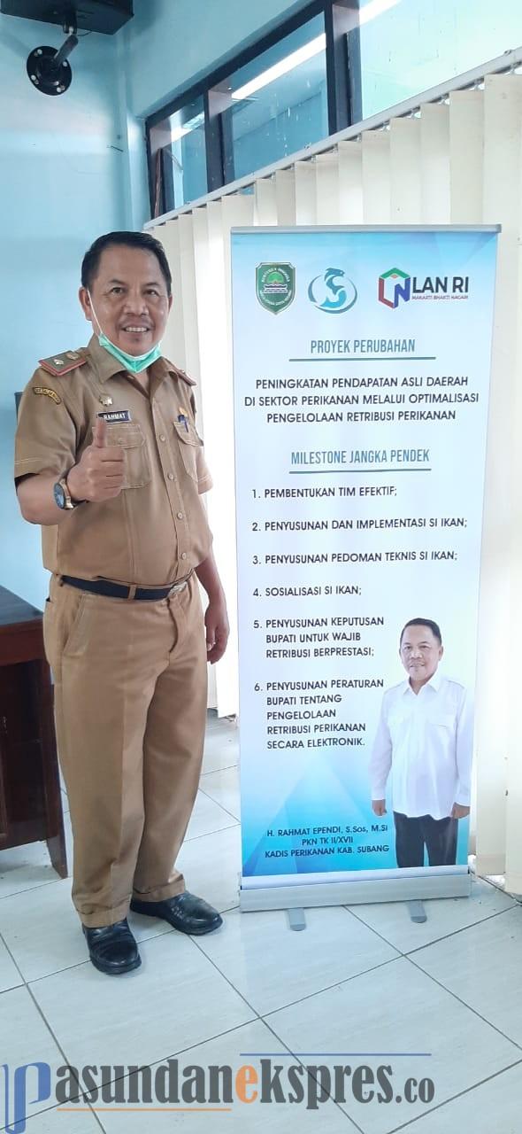 RAHMAT EFENDI, S.Sos, M.Si Kepala Dinas Perikanan Kab. Subang