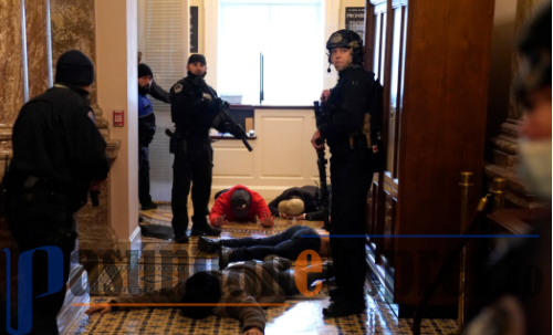 Kerusuhan di Kongres AS