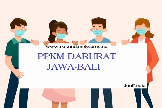 PPKM Darurat Jawa-Bali, Ini Daftarnya
