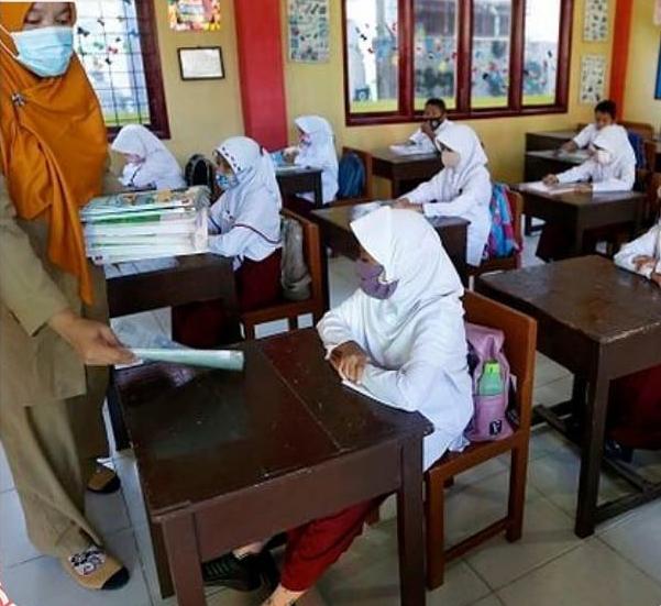 Pembelajaran Tatap Muka Terbatas di Kabupaten Bandung Barat
